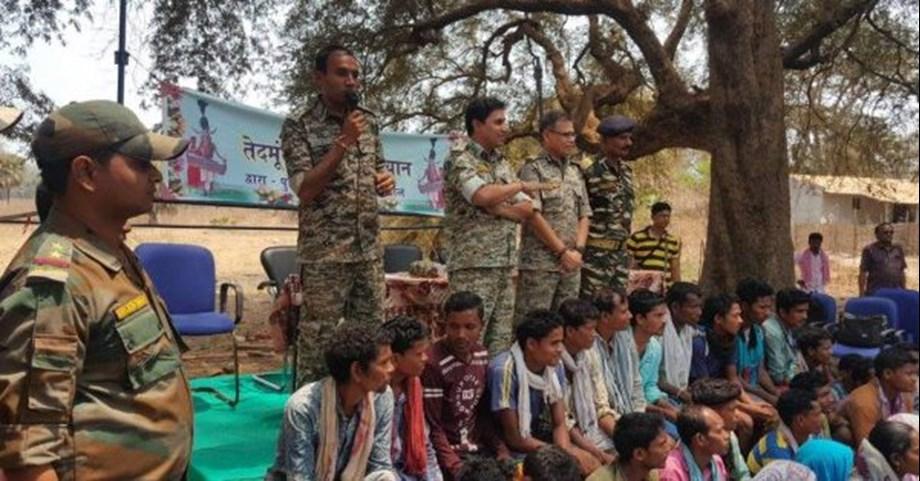 Eight Maoists held in Chhattisgarh