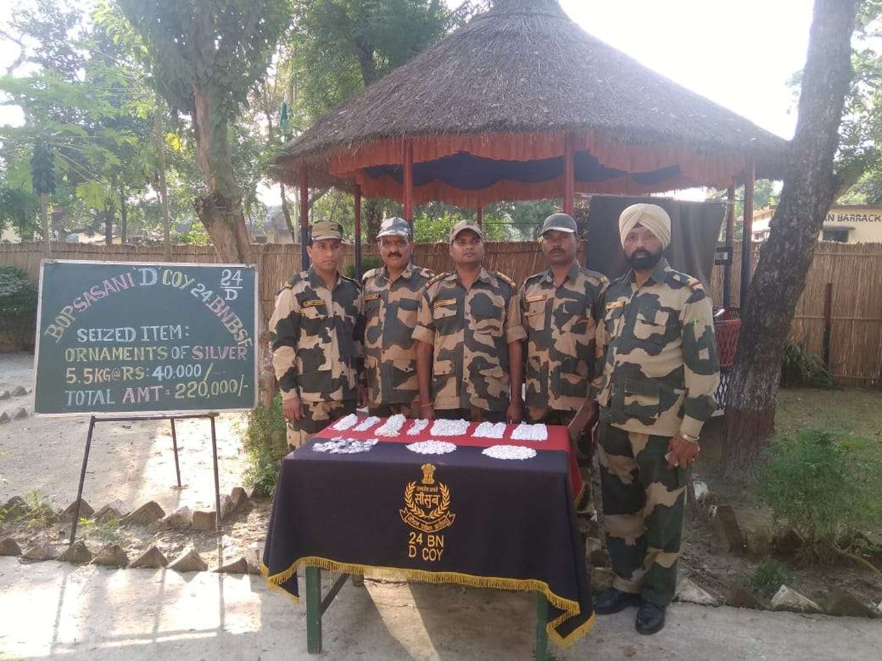 BSF motercyclist team 'JANBAZ' made seven world records in five days since Oct 15