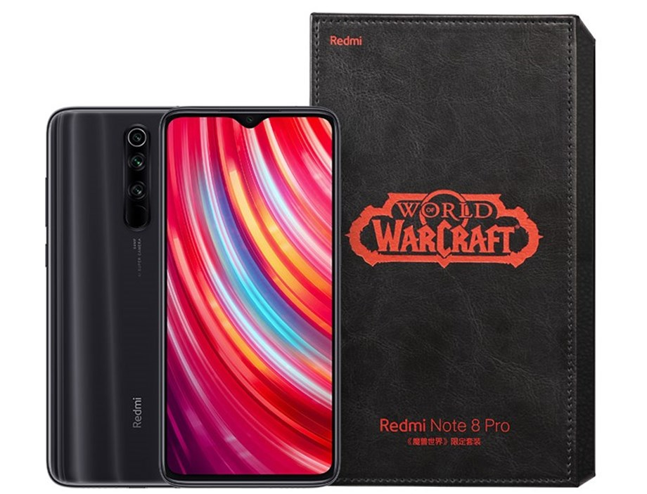 """Redmi Note 8 Pro """"World of Warcraft"""" special edition to go on sale for CNY1,899"""