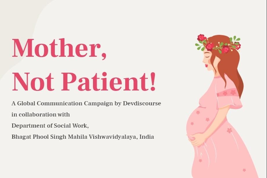 SDG 3.7: Mother, Not Patient!