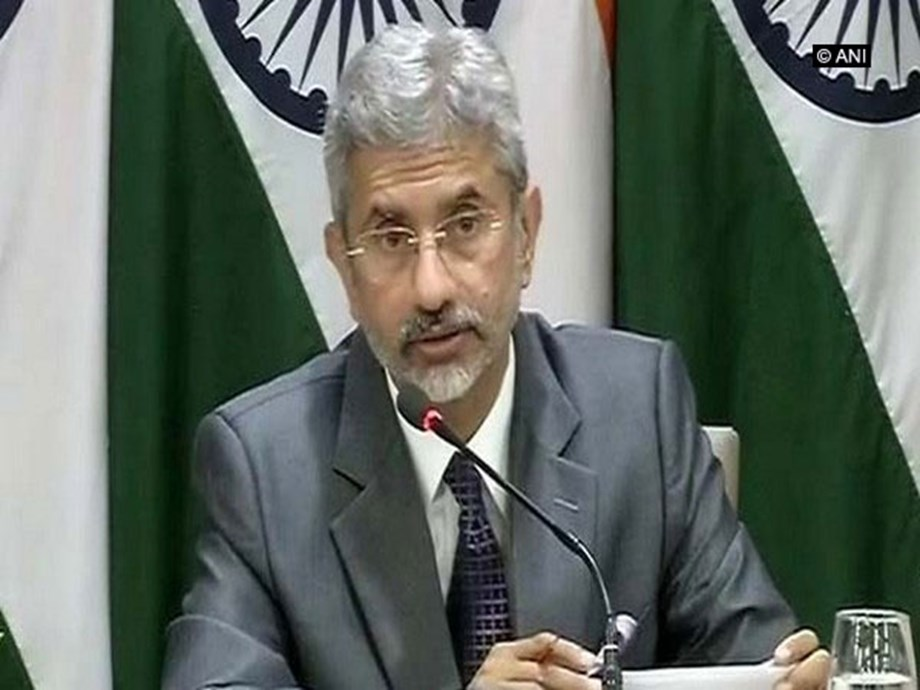 Willingness to cooperate on terrorism precondition for talks with Pakistan: Jaishankar