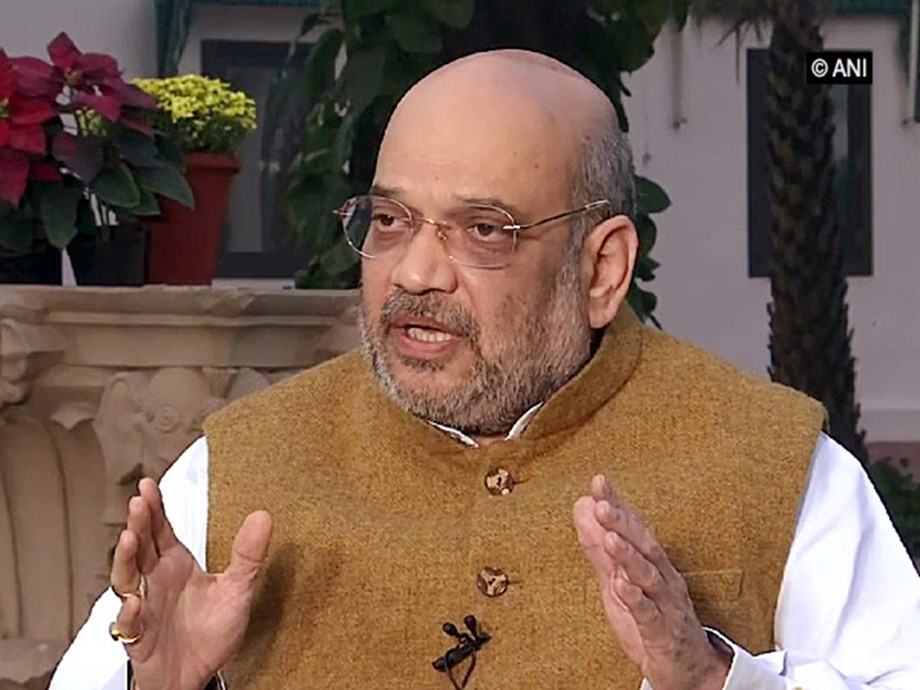 Amit Shah reviews functioning of CRPF, calls for decisive campaign against Maoists