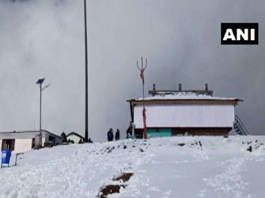 HP: Bijli Mahadev temple in Kullu covered in thick blanket of snow
