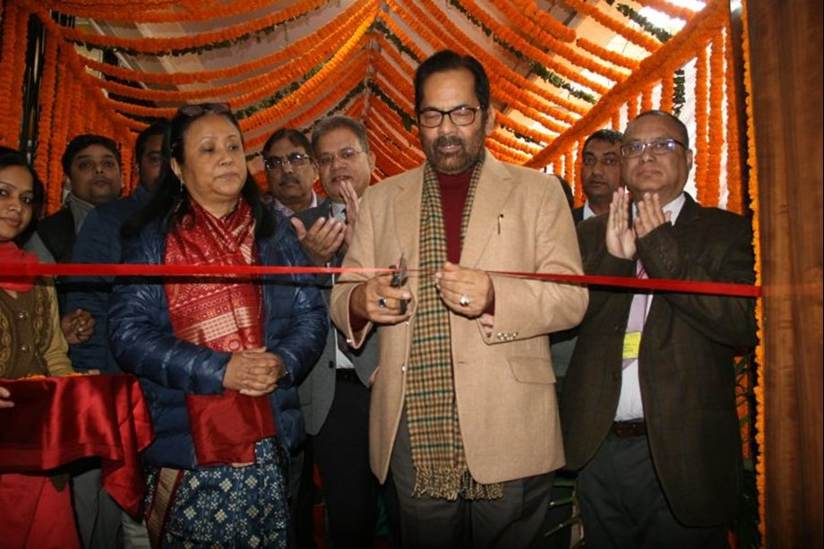 Minority Affairs Minister Naqvi inaugurates new Office space of Haj Division