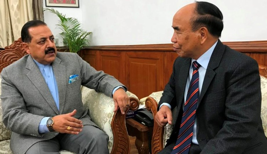 Mizoram CM calls on Dr Jitendra Singh to discuss on development projects in state
