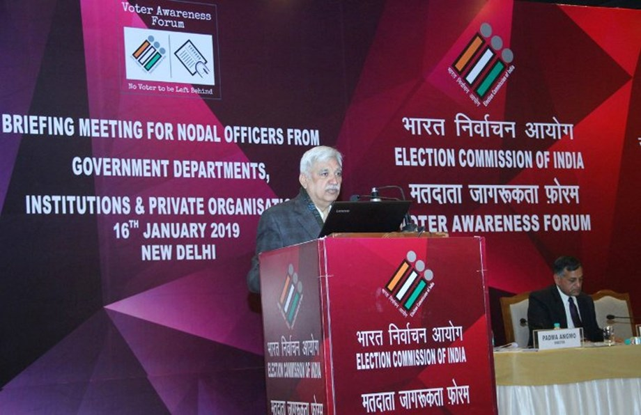 Election Commission of India launches Voter Awareness Forum in New Delhi