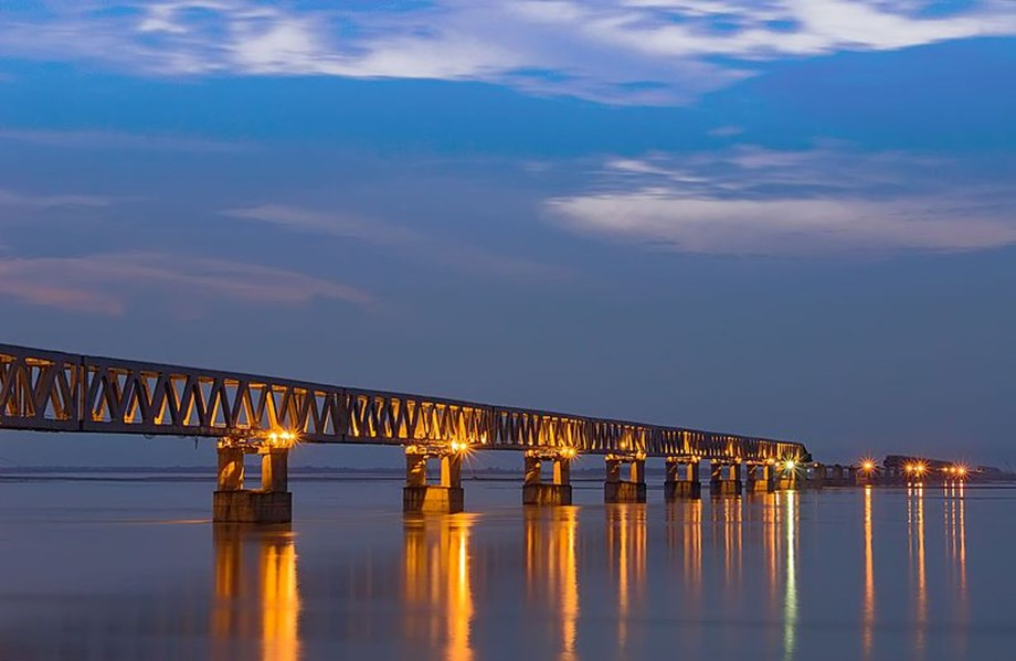 Northeast Frontier Railway hails operational benefits of Bogibeel bridge