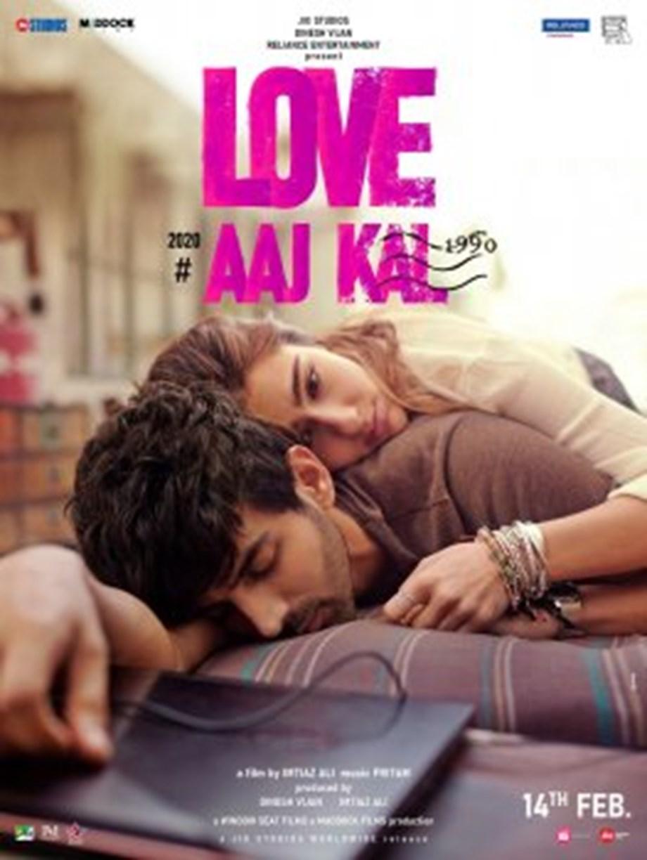 Sara Ali Khan, Kartik Aaryan share first look of 'Love Aaj Kal'
