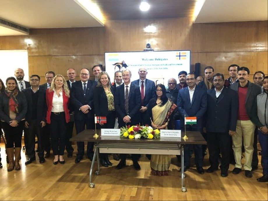 India-Norway Dialogue on Trade & Investment convened on 15-16 Jan