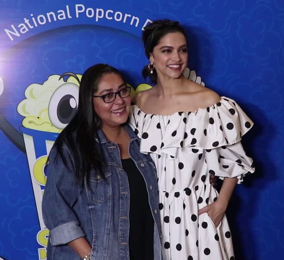 Deepika, Meghna visit theatre to see reactions of people on 'Chhapaak'