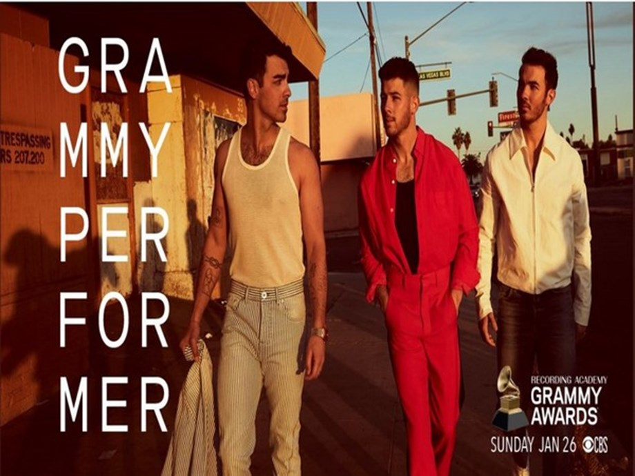 Jonas Brothers to perform at Grammys 2020