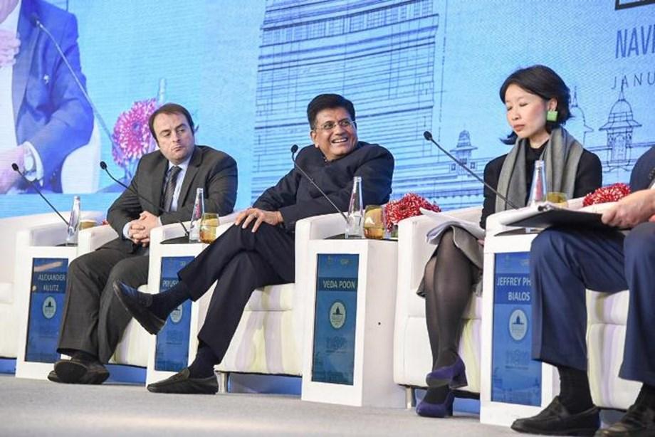 Raisina Dialogue: India to work for strengthening of WTO, Piyush Goyal says