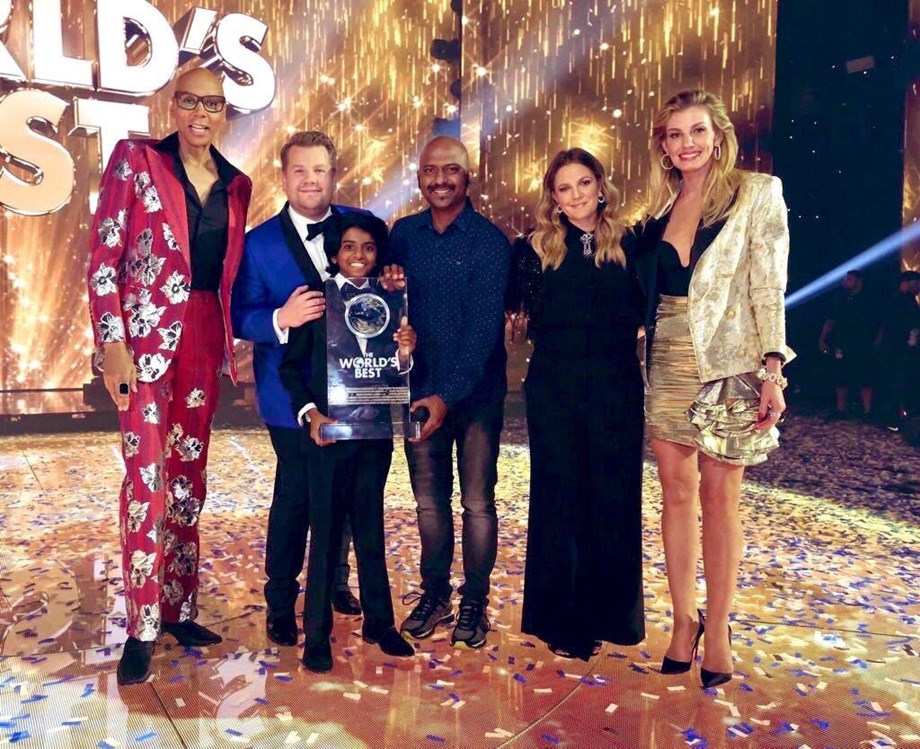 """13-year-old bags $1M on U.S. show """"The World's Best"""""""