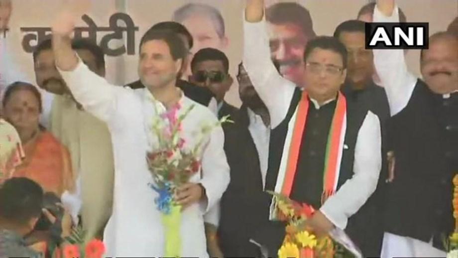 Prominent BJP leader, ex-Uttarakhand CM BC Khanduri's son joins Congress