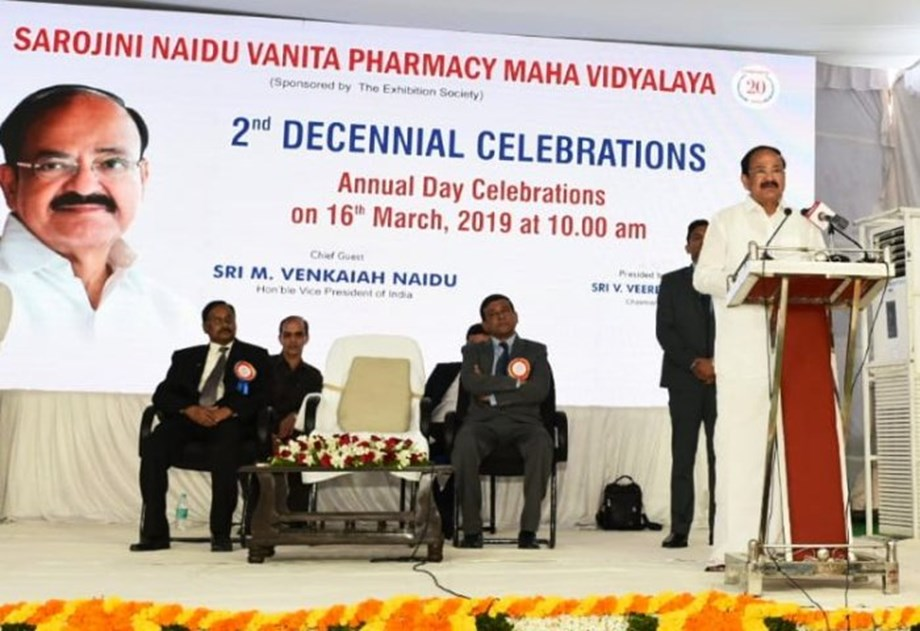 Vice President Naidu calls for revamping pharmacy education in India