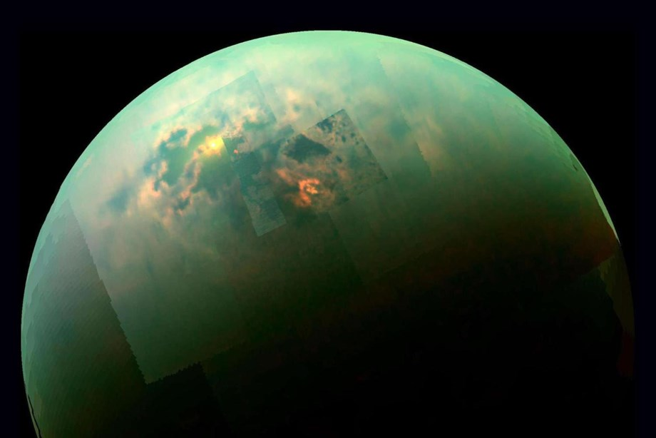 Cassini spacecraft unveils 100 meters deep methane lakes in Saturn's moon Titan