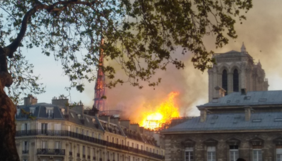 Only 9% of millions pledged for Notre-Dame handed over