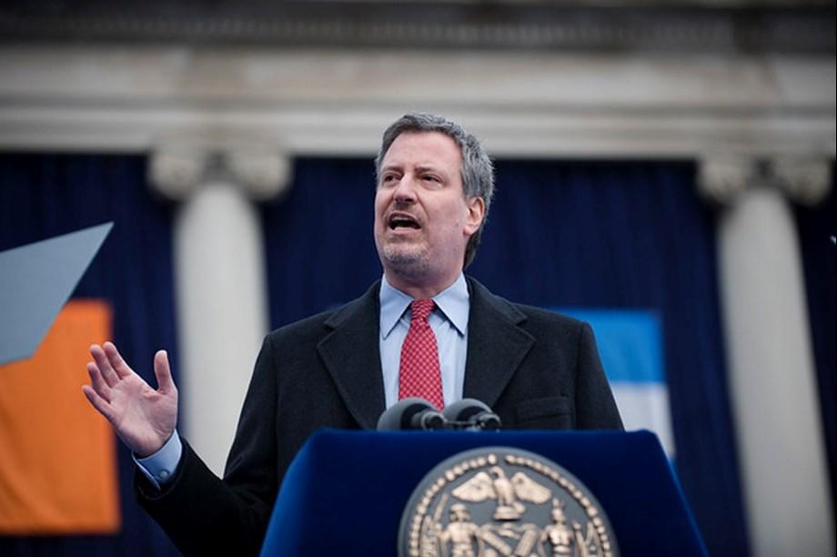 NYC Mayor Bill de Balsio enter presidential race