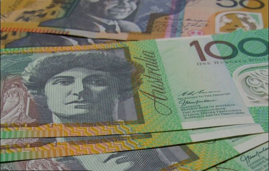 Aussie dollar slip to 5-month low amid weak economic data, trade conflict