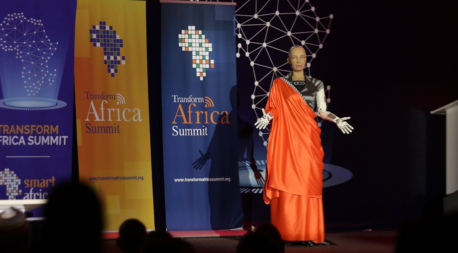 Transform Africa Summit: Humanoid robot Sophia has a message on artificial intelligence