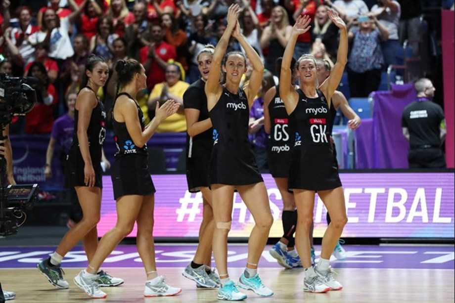 Reception to be held at Parliament for world champion Silver Ferns