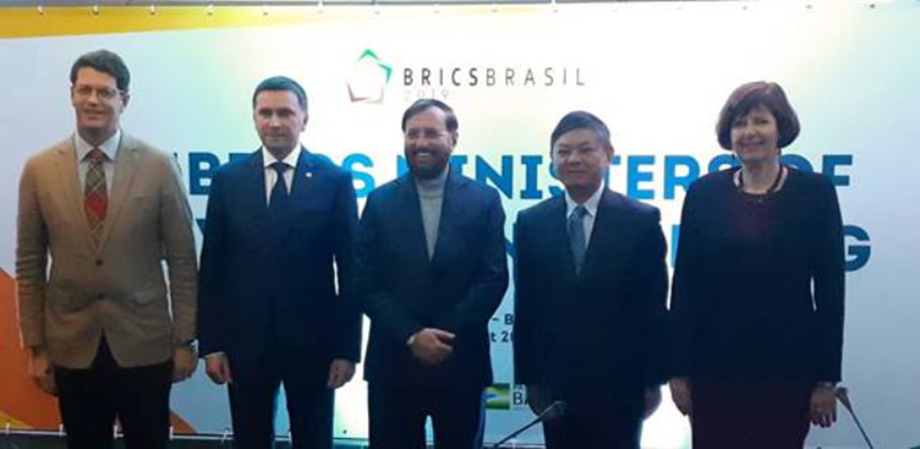 Ministers of BRICS countries agree to jointly resolve environmental issues