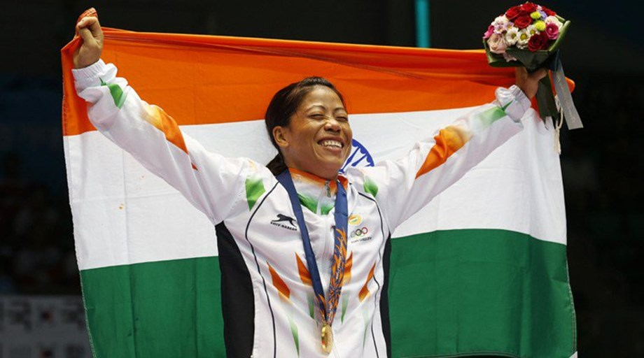 Another honour: Mary Kom named best boxer of World Championships