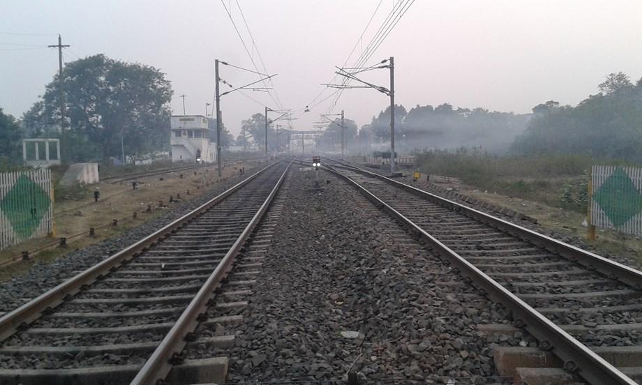 Rail tracks impacted due to heavy rains following cyclone 'Titli'