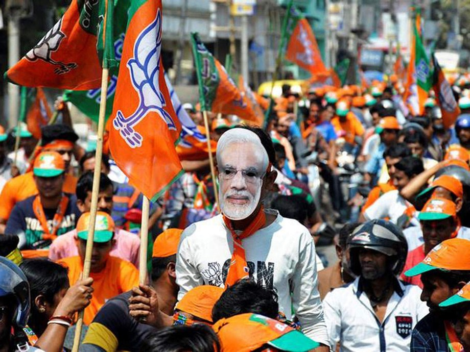 BJP tries to win Hindu voters with grand statue ahead of elections