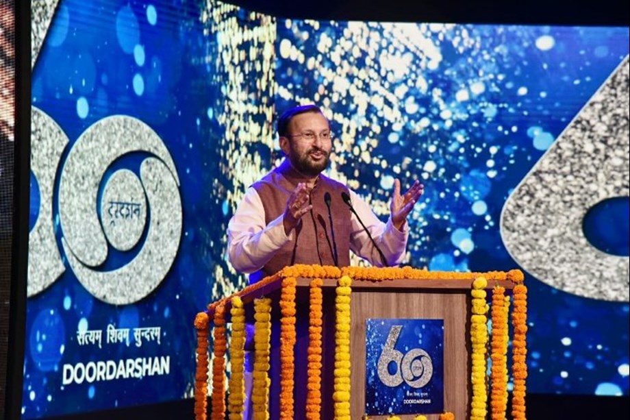 Prakash Javadekar highlights role played by Doordarshan in journey of 60 years