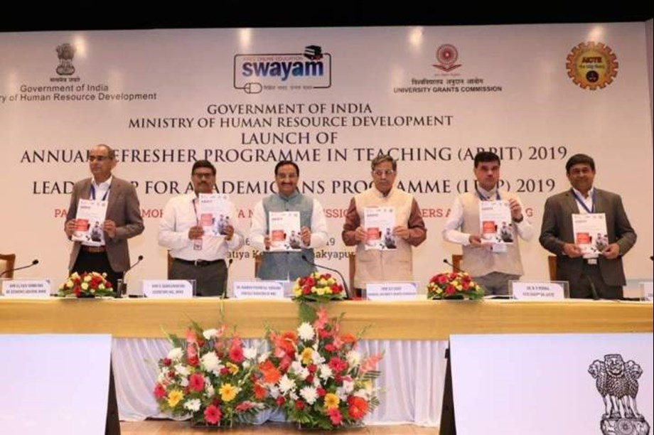 ARPIT great platform for teachers to learn about latest developments: HRD Minister
