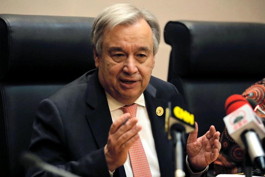 UN chief Antonio Guterres calls for halting violence in Yemen