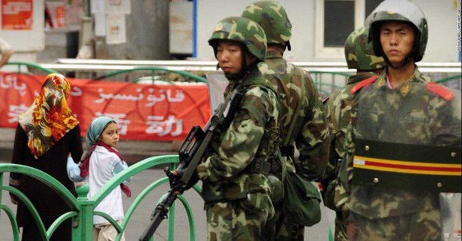 China defends its detention of Muslim minority in Xinjiang, rejects 'hearsay'