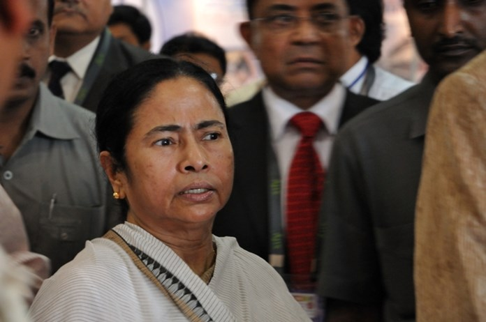 Mamata accuses BJP government of resorting to religion, caste-based politics