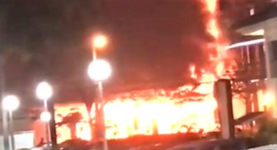 General Santos: Gaisano Mall of GenSan catches fire amid earthquake panic