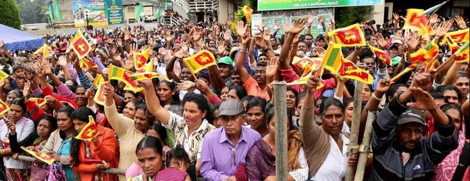 Rajapaksa takes early lead in Sri Lanka presidential poll