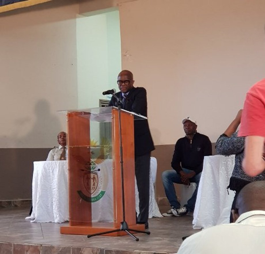Makwetla urges to give inmates second chance at wheelchairs handover ceremony