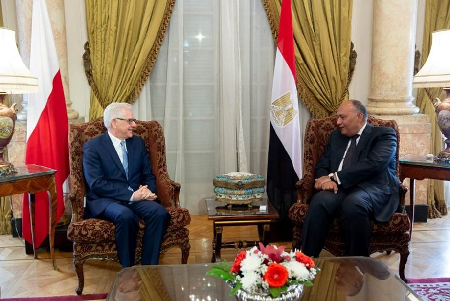Polish foreign minister and Egyptian diplomat discuss bilateral cooperation