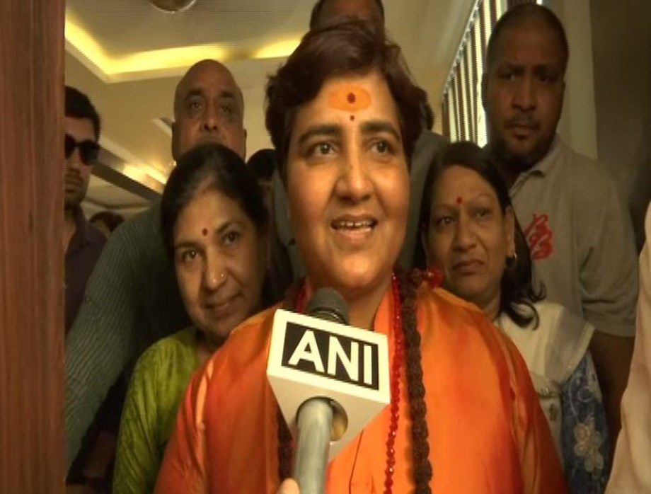 BJP candidate from Bhopal Sadhvi Pragya faces intense political fight