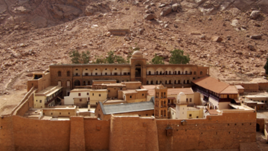 Ancient manuscripts at Mount Sinai being archived digitally due to risk of militants