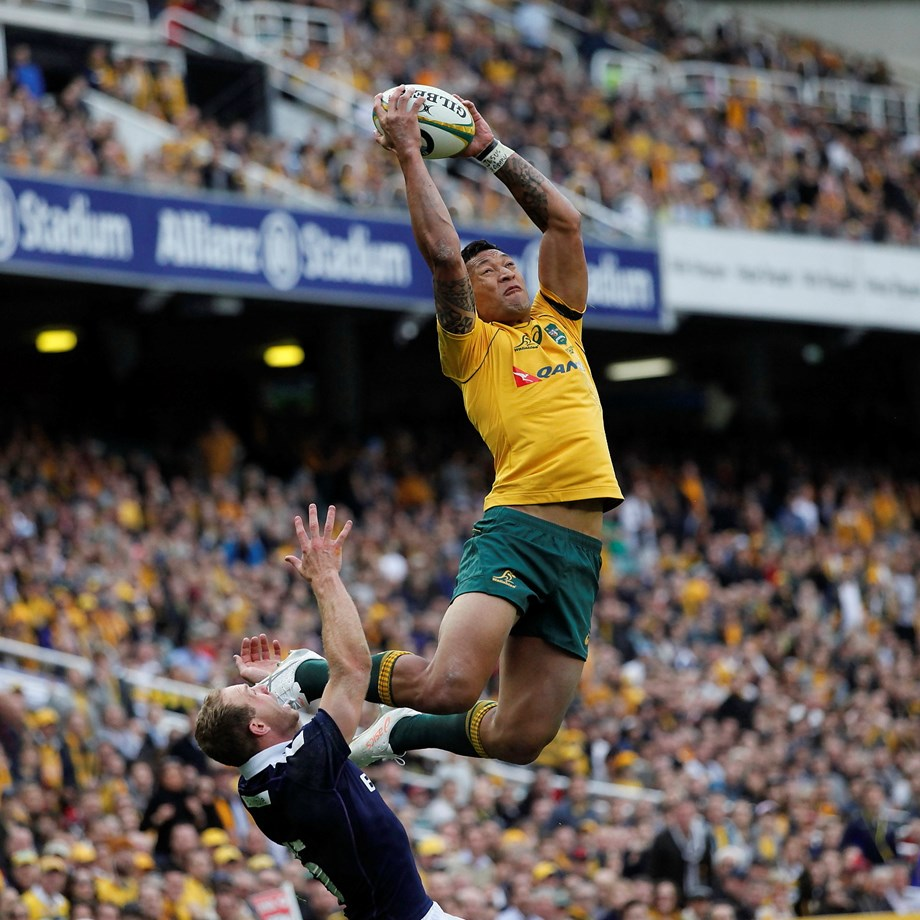 Rugby-Folau sacking 'unfortunate' but team is king: Cheika