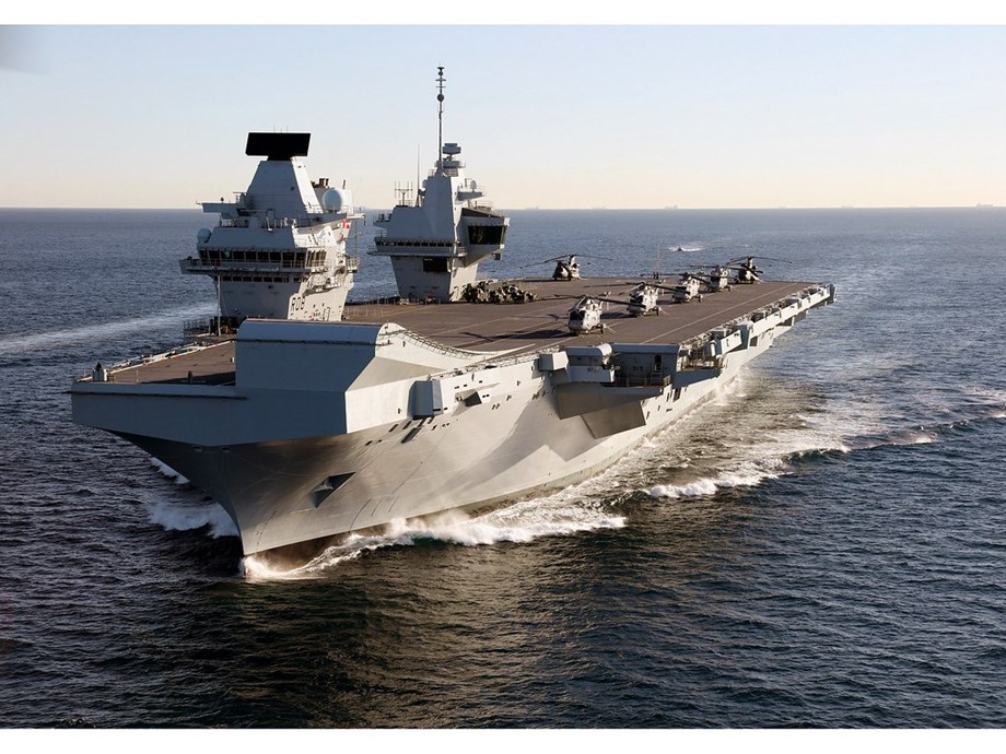 HMS Queen Elizabeth captain removed from post over car 'misuse': report