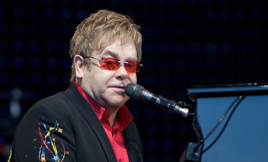CORRECTED-UPDATE 1-Elton John touches down in Cannes for sparkling 'Rocketman' premiere