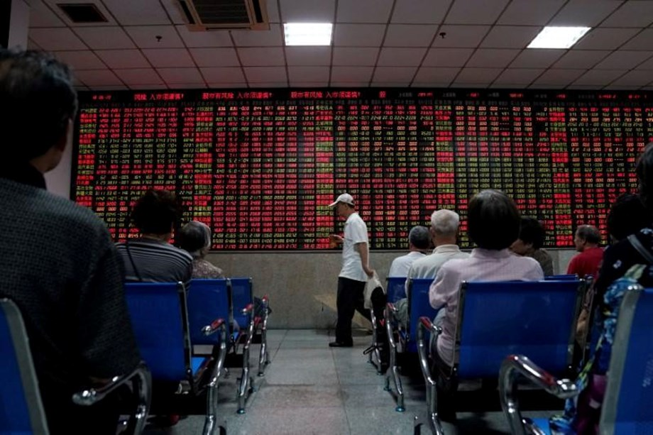 China shares fell on Wednesday morning