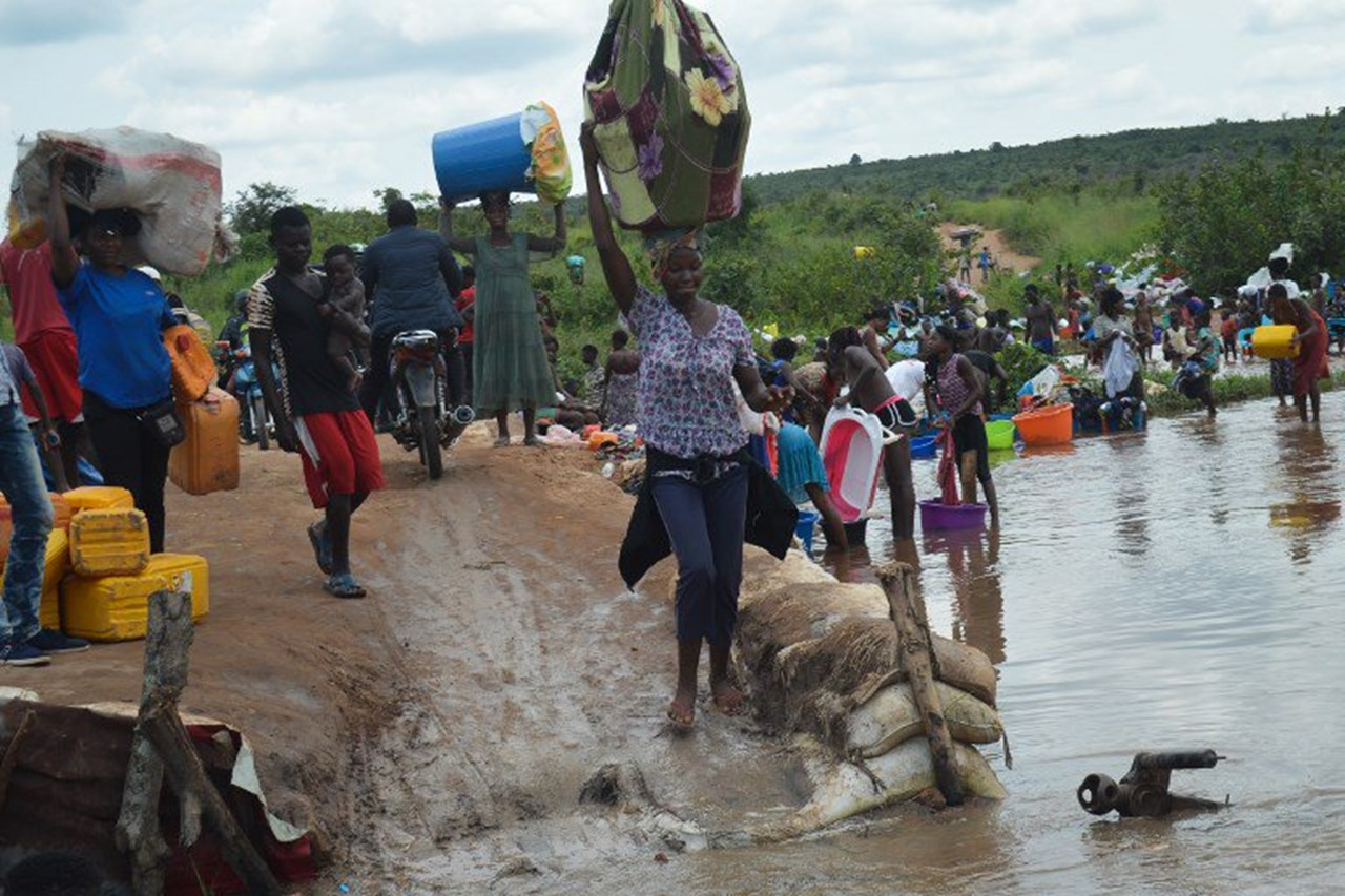 Congolese migrant workers struggling for food and shelter