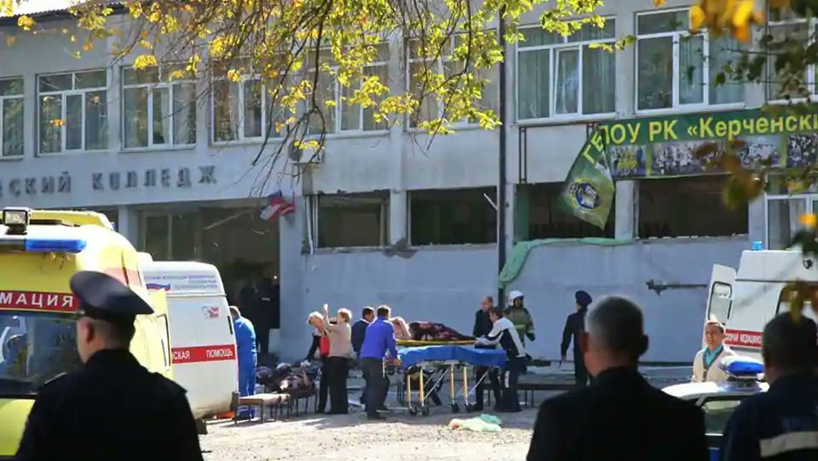 Russia probes terror after 17 yr old student suicide attack on security service