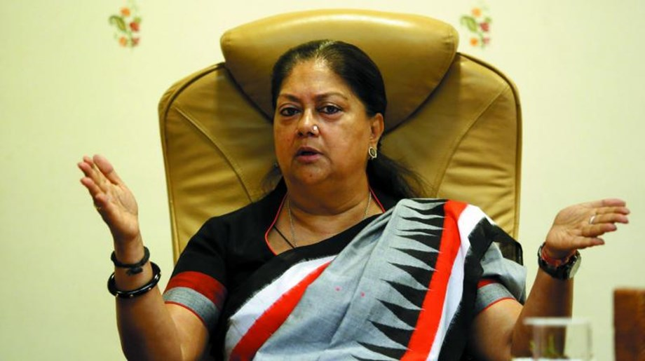 Congress hits out at CM Raje of stalling public welfare schemes in Rajasthan