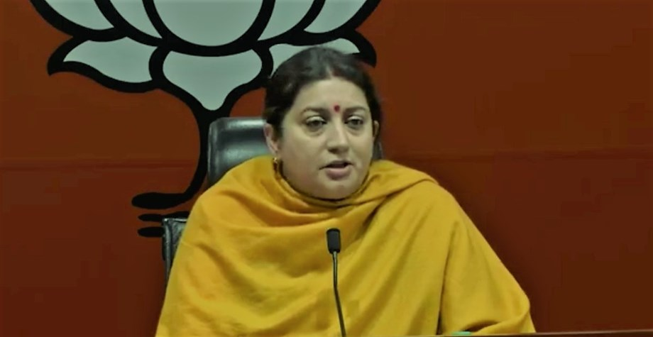 Rahul Gandhi remembers his constituency only once in five years - Irani