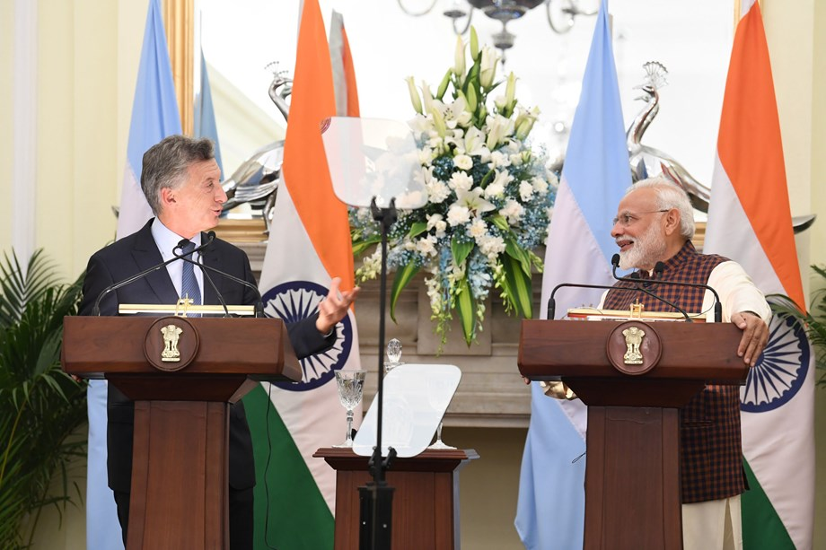 India, Argentina agree to expedite signing of treaties to boost trade