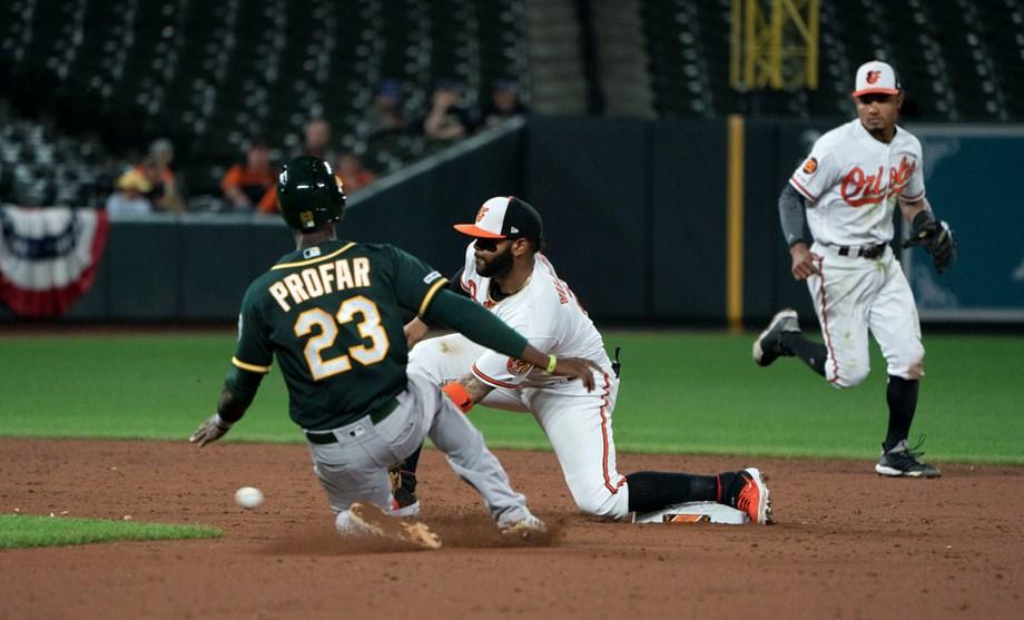 Struggling Orioles shut down Indians